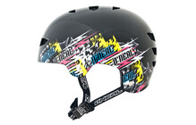 O'Neal Dirt Lid Fidlock ProFit Distortion helmet black/neon